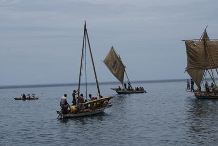 Nelayan Rugi Miliaran Rupiah karena Cuaca Buruk