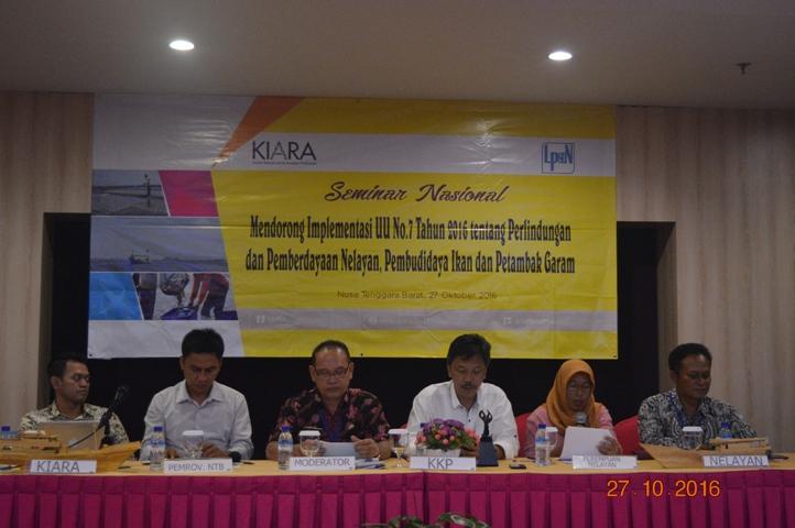Nelayan NTB Serahkan 8 Poin Rekomendasi Implementasi UU Perlindungan Nelayan