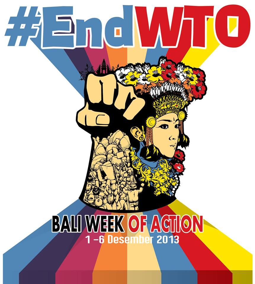 Pertemuan Rakyat VS Pertemuan WTO di Bali 2013