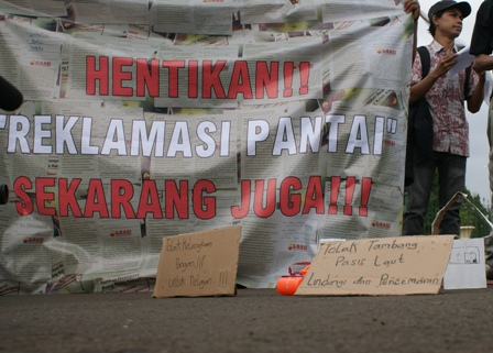 LSM Bentuk Posko Penyelamatan Teluk Palu