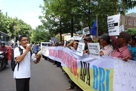 Ingkar Janji, Petambak Dipasena Protes BRI
