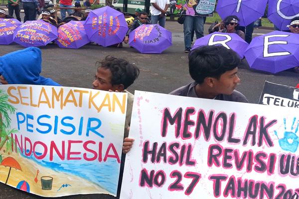 KIARA Protes Keras Reklamasi Teluk Benoa